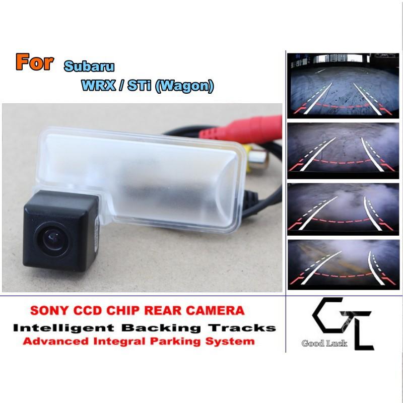 For Subaru WRX / STi (Wagon) CCD Night Vision  20M Waterproof  High Quality Camera Smart Backing Tracks Camera Connectors RCA<br><br>Aliexpress