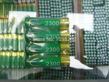 FREE SHIPPING 4pcs X BTY Genuine Full Capacity 2300mAh AA Battery 1 2V Ni MH Rechargeable