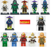 2016 New Decool Bricks 1Cole Kai Jay Zane Minifigures Building Blocks Ninja Figures Christmas Gift Toys Compatible Legoe - Happy Shopping Made Fun store