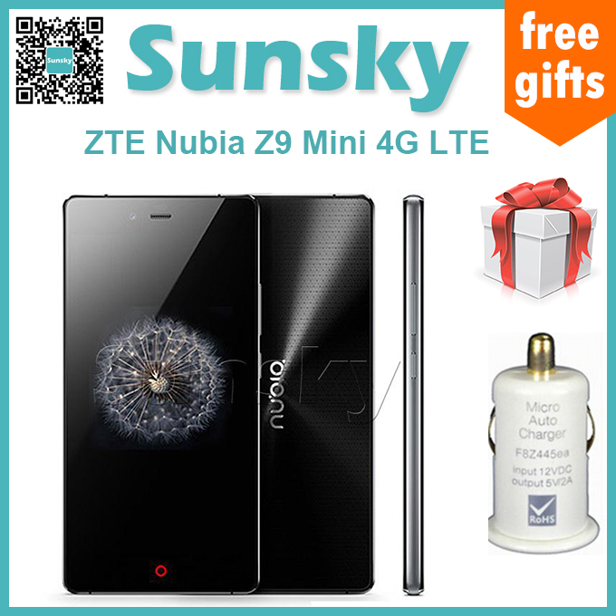 Original ZTE Nubia Z9 Mini 5.0Inch FHD 64bit 4G LTE Android 5.0 Smartphone 2GB 16GB Snapdragon 615 Quad Core 1.5GHz 16.0MP(China (Mainland))