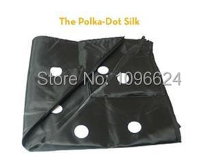 Free shipping! The polka -Dot Silk(45*45cm) -  Magic Trick,metal,Accessories,mental stage close up magic props<br><br>Aliexpress