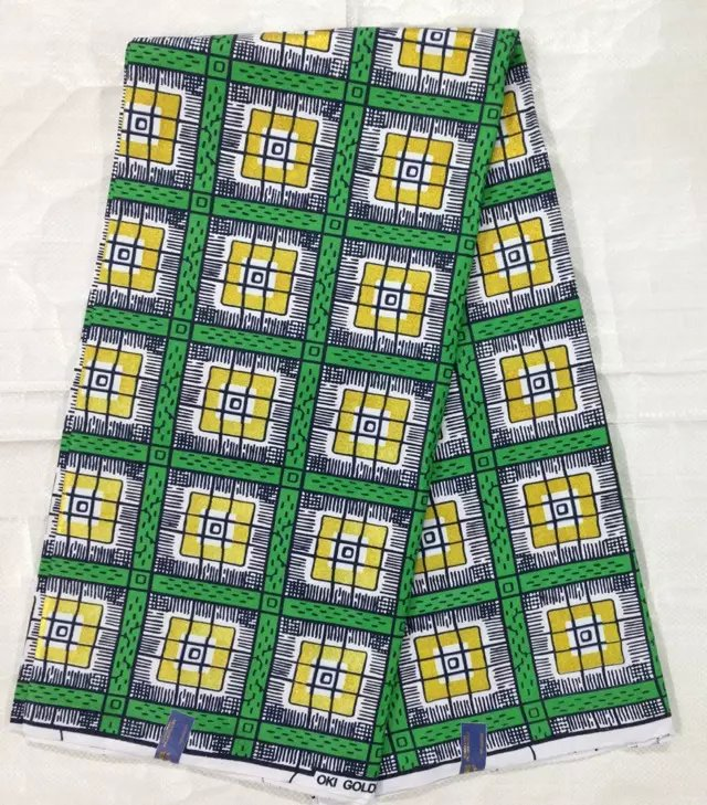 2015 new design hot sale fabric for sewing 6yards cotton for Sewing fabric for sale