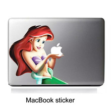 Aquamarine Personality Vinyl Decal notebook laptop Sticker for macbook Pro / Air 13 inch Laptop Case Cover Cartoon Skin
