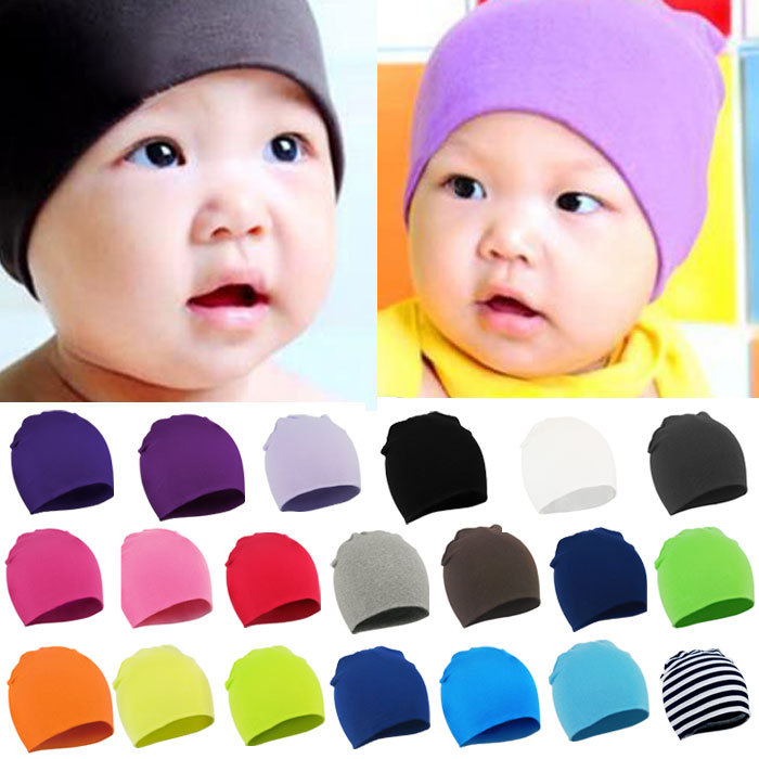 2015 Newborn spring winter New Unisex Baby Boy Girl Toddler Infant colorful Cotton Soft Cute Hat Cap Beanie - Online Store 531010 store