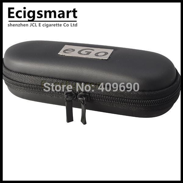 Small Size Black Case Easy Carry portable eGo Bag eGo Zipper Box for eGo Electronic Cigarette Starter Kit Vaporizer Pen Battery(China (Mainland))