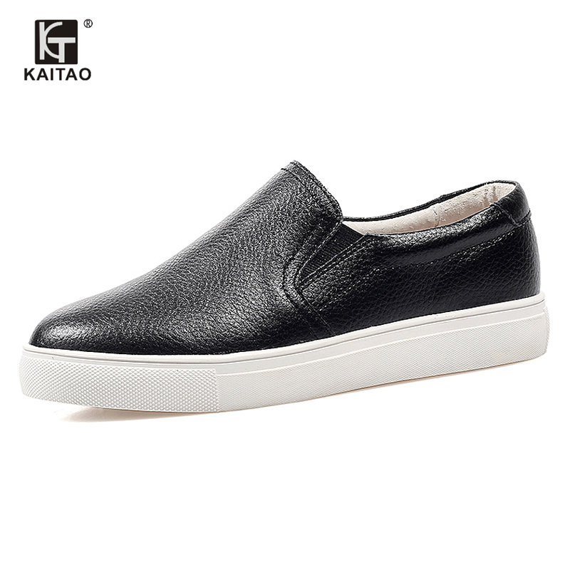 white 2016 casual Cozy Flats women's shoes Cow Split Leathe slip on Female summer shoes for women moccasins Footwear woman NX-28(China (Mainland))