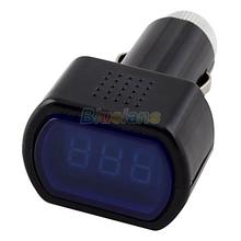 New Digital LCD Display Cigarette Lighter Voltage Panel Meter Monitor Car Volt Voltmeter 01LR 325H(China (Mainland))