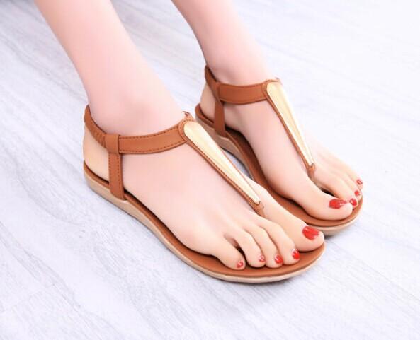 2015 Fashion summer shoes women sandal for women flip flops Wedges sandal Girl women pumps sandy beach(China (Mainland))