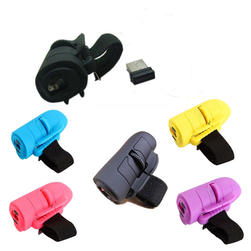 Wired Mini USB 3D Optical Handheld Finger Ring Mouse Mice For Laptop PC Computer(China (Mainland))
