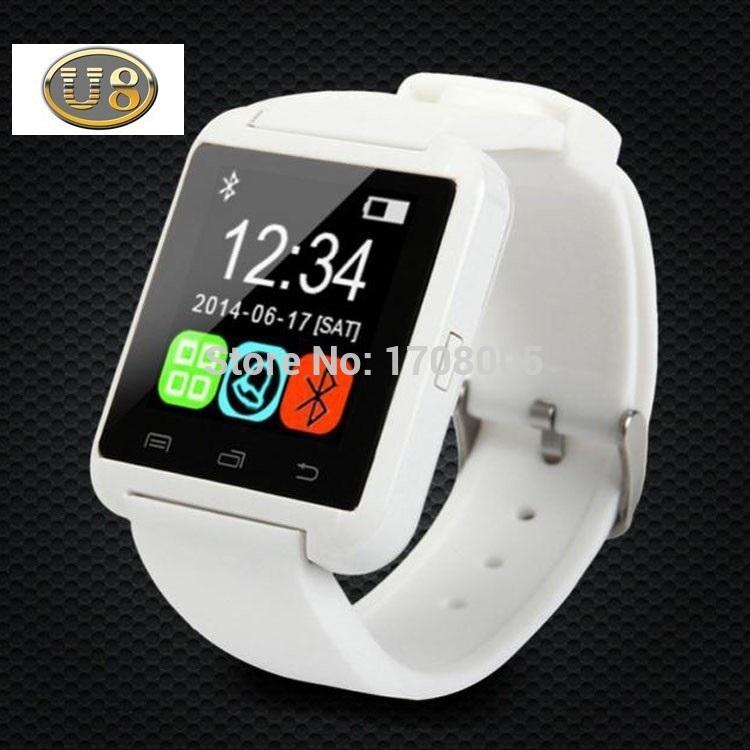 2016 Customized high quality new U80 Smart Bluetooth watch/Smart Watch/WristWatch Wrist Wrap Watch for IOS, Android Smart Phones(China (Mainland))