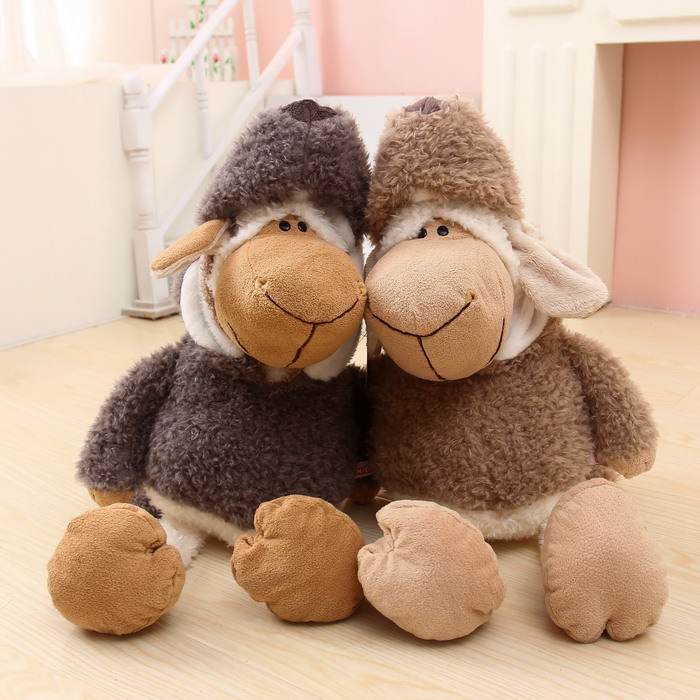 Super cute NICI sheep in wolf's doll wolf sheep plush toys1pc(China (Mainland))