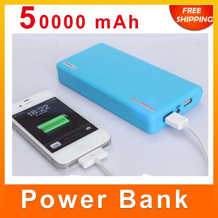 Wallet Style Portable Dual USB 20000mah Power Bank External Battery Charger Pack iPhone mobile phone tablet LED 6*18650 - Manufacturer store