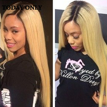 Buy 10A Malaysian Virgin Hair 1B 27 Ombre Straight Virgin Hair Blonde Ombre Human Hair Malaysian Straight Hair Weave Ombre Bundles for $50.26 in AliExpress store