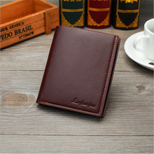 Buy 2017 Business PU Leather Purses Men Thin short Clutch Wallet Fashion open Wallets Credit Card Holder Coin Purse B1064-1 for $5.80 in AliExpress store