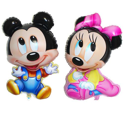 1 шт. микки и минни воздушные шары классические игрушки рождественские день рождения свадебные украшения ну вечеринку надувные воздушные шары