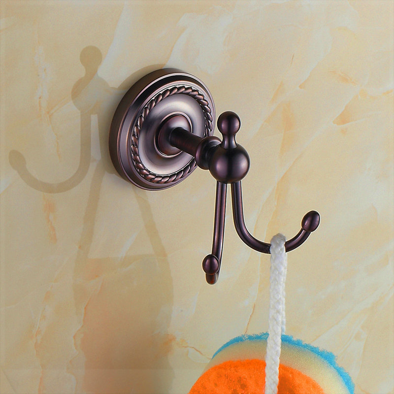 Fashion antique clothes hook coat hooks american clothes hook wall bathroom hook papel de parede listrado(China (Mainland))