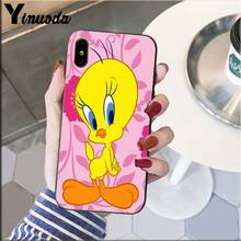 Yinuoda funny Tweety Bird cute Colorful Cute Phone Case for Apple iPhone 8 7 6 6S Plus X XS MAX 5 5S SE XR Cellphones(China)