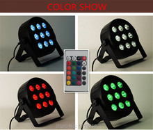 Buy 12pieces/lot Wireless remote control LED SlimPar 9x12W RGBW 4IN1 LED DJ Wash Light Stage Uplighting Noise Free for $480.00 in AliExpress store