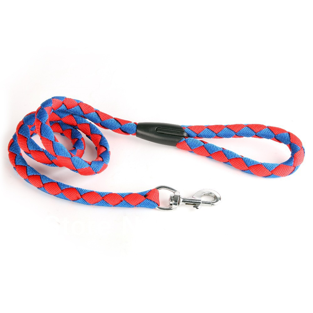 Lovabledog Brand Nylon Woven Pet Dog Leash Small Large 4 Color 3 Size leash - GUANGZHOU HZ TRADING CO.,LTD store