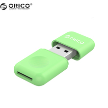 ORICO CRS12 Card Reader Mini Multifunctional Design USB 3.0 Card Reader For SD/TF - Green(China (Mainland))