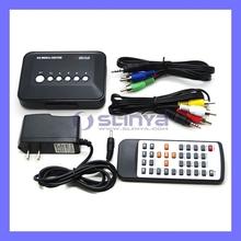 Full HD 1080P Media Player RM/RMVB/AVI/MPEG Multi Media HDD TV Player Remote Control(China (Mainland))