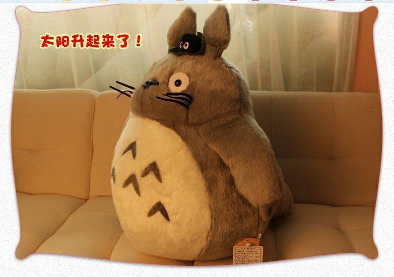 big size high quality plush Totoro toy stuffed classic totoro doll gift about 60cm(China (Mainland))
