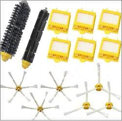 6 Hepa Filter + 1 set hair Brush kit + 3 set side brush for iRobot Roomba 700 Series 770 780 790 vacuum cleaner accessories(China (Mainland))