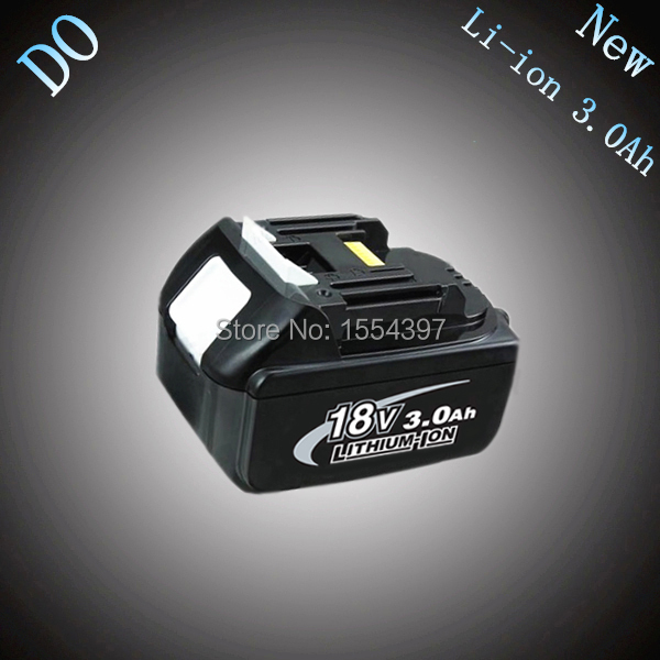 New Rechargeable Lithium Ion 18V 3000mAh Replacement Power Tool Battery for Makita BL1830 LXT400 194230-4 194205-3(China (Mainland))