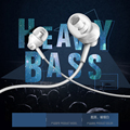 Hot Sale Stereo In Ear Earphones With Microphone 3 5mm Jack Music Headset Bass Earphone for
