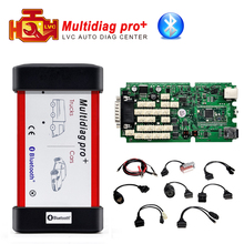 A++ Quality Multidiag pro+ Bluetooth TCS CDP Plus Car / Truck Diagnostic tool with full set 8 car cables DHL Free Shipping(China (Mainland))