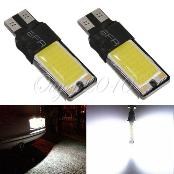 1Pcs Big Promotion Canbus Error Free T10 194 501 W5W SMD COB LED High Power Car Auto Wedge Lights Parking Bulb Lamp DC12V(China (Mainland))