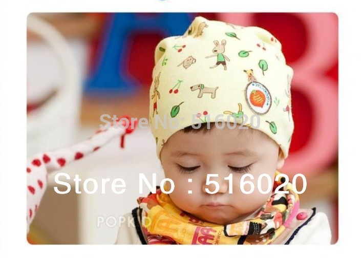 cute Cotton Baby new Kids Children frozen hat Toddler Infant Newborn Bomber Beautiful Hats Caps Beanies Earflaps knitted hat(China (Mainland))