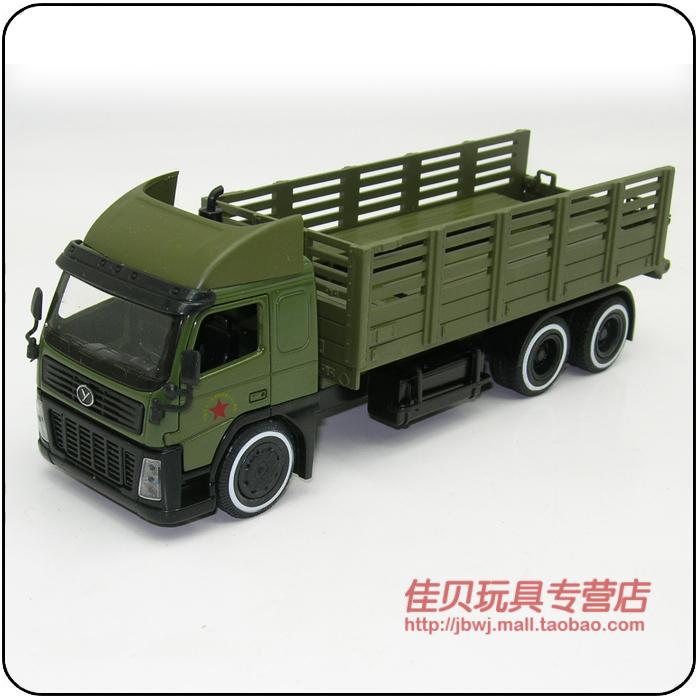 6/7 model military transport truck cars 60 6/7 commemorative edition alloy jackknifed(China (Mainland))