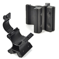 35mm 51mm Magnetic Bracket Tactical Flashlight Gun Mount Holder Dual Magnetic X High concentrations of iron