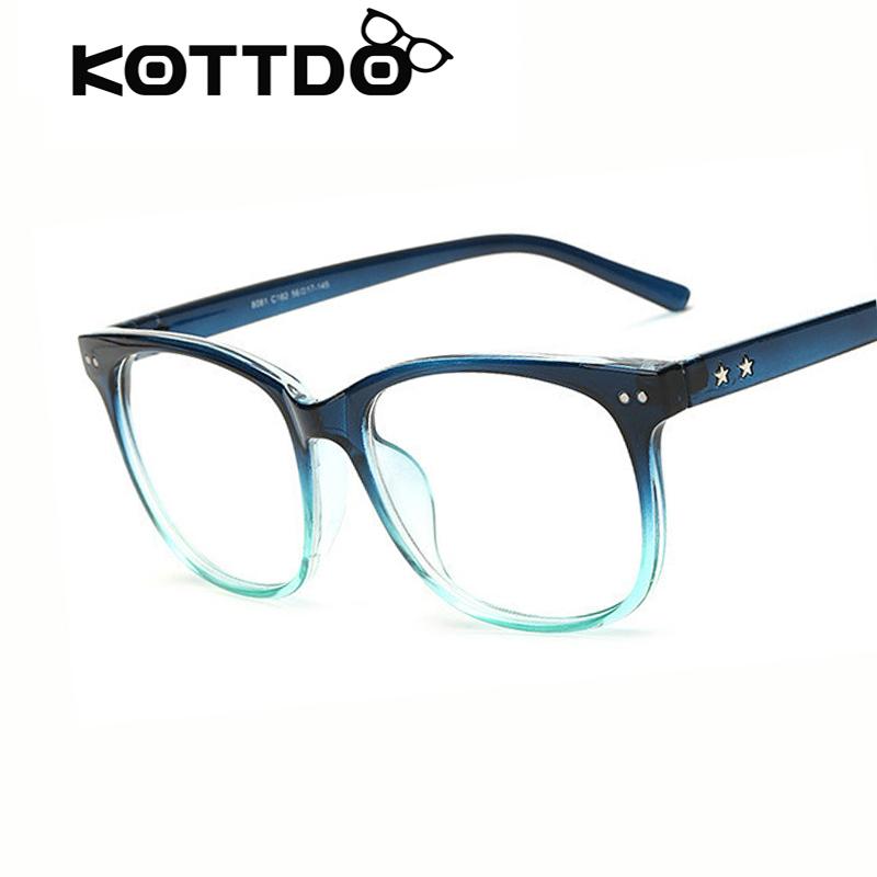 Big Frame Eyeglasses : Aliexpress.com : Buy KOTTDO Spectacle Big Frame Square ...