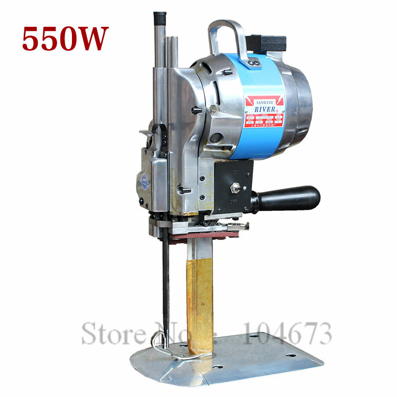 """Free ship new Industrial Fabric Cutter 10"""" CLOTH CUTTER with Automatic Sharpener 220V 750W(China (Mainland))"""