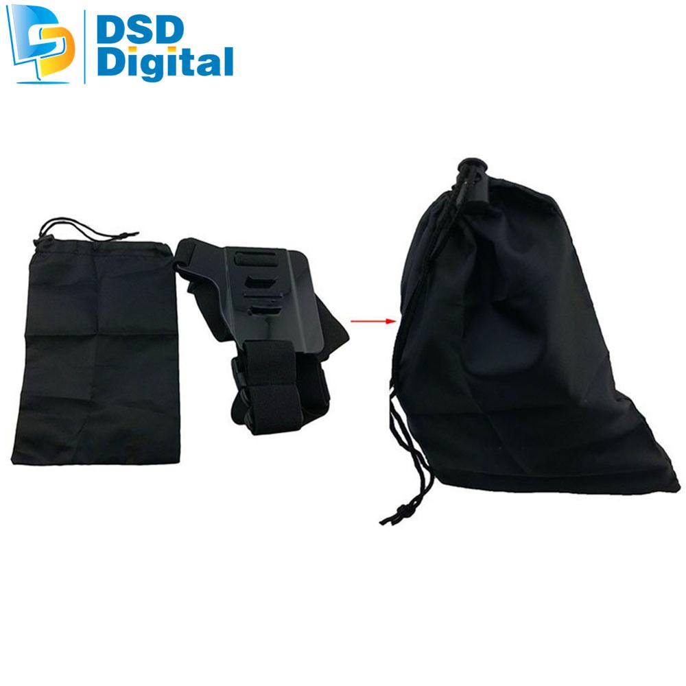 SAQN for Sjcam camera bag accessories kit for sj5000x sj4000 m20 gopro hero5 session black action camera xiaomi 4k eken h8 h906F