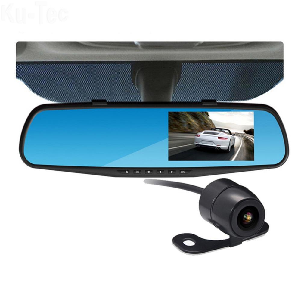 видеорегистраторы зеркало заднего вида Днем