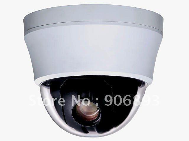 "4""  Mini  High  Speed Dome Camera , Vandal proof , 1/4"" Sony CCD ,480/700 TVL,3.8~38mm 10X optical Zoom Lens,Auto Focus"