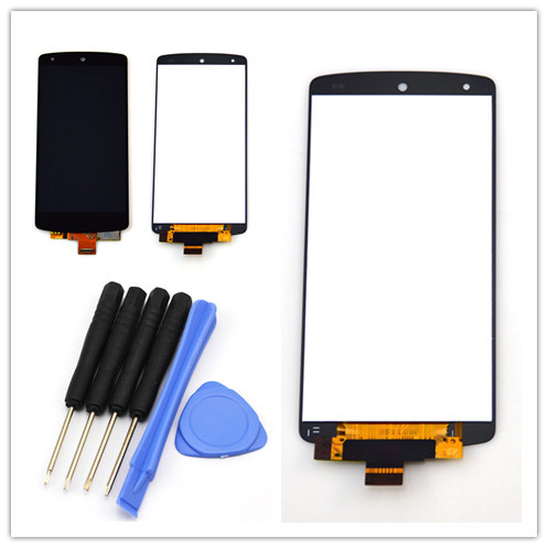 For LG Google Nexus 5 D820 D821 lcd display Touch Screen with Digitizer Assembly Free shipping !!! black