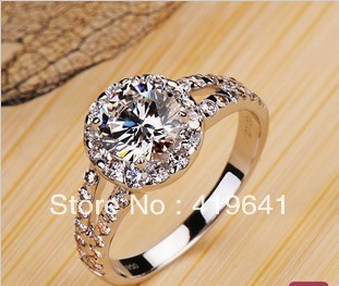 New fashion wedding ring Wedding ring heart imprint