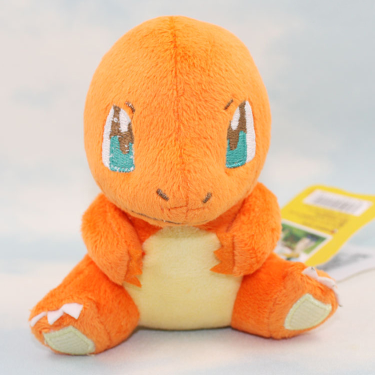 "Wholesale/retail Free Shipping Pokemon Plush Charmander Soft Toy Nintendo Stuffed Animal Teddy Cuddly Toy 4.5""plush Doll Toy(China (Mainland))"