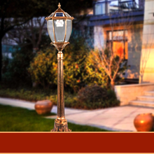 Lawn lamp waterproof outdoor garden lights can highlight column D Landscape Garden Villa induction street light