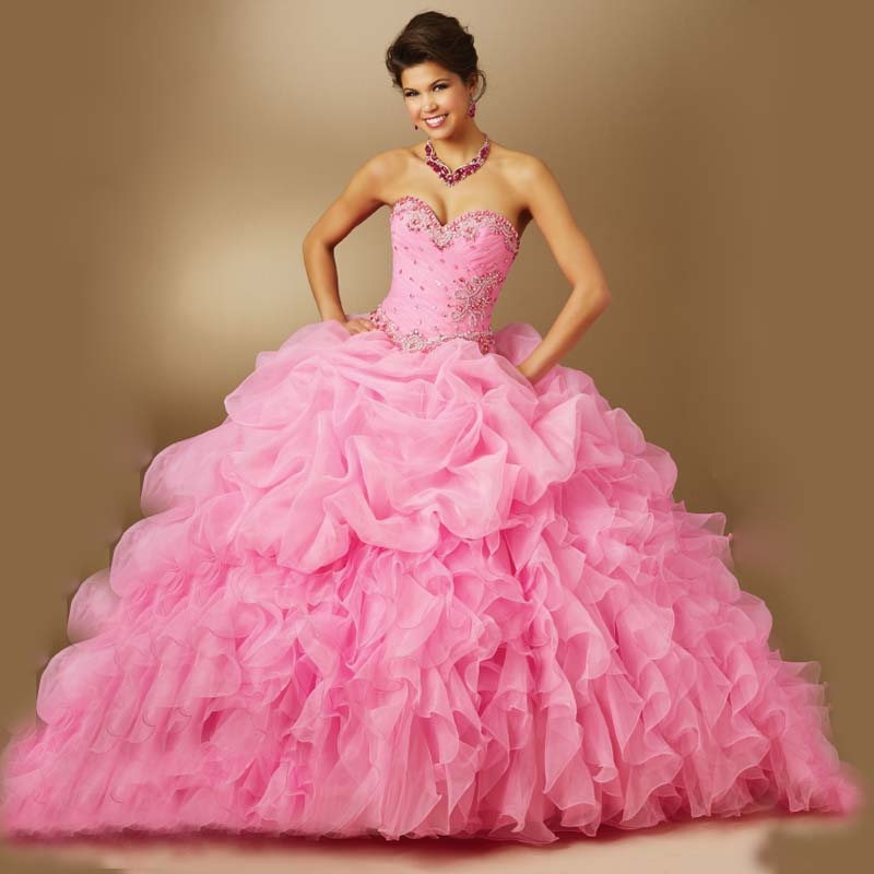Vestidos de 15 -Color Rosa