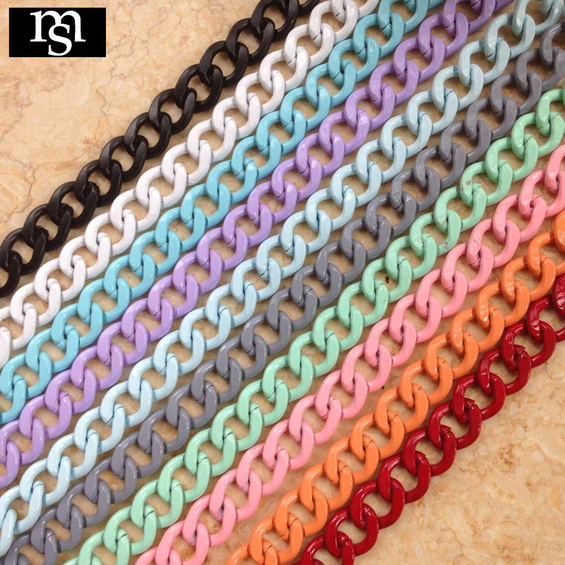 material manualidades chain diy fashion brand mix cord necklace jewellery making materials fine jewelry making supplies(China (Mainland))