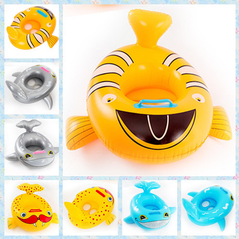 Hot Sale Lovely Swimming Tool Inflatable Toddler Baby Swim Ring Kids Children Swimming Pool Water Float Seat for Summer Boy/Girl(China (Mainland))
