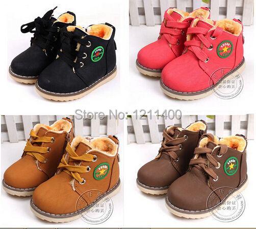Гаджет  Kids Wniter Shoes baby shoes baby thickening cotton-padded shoes children winter warm boots boys snow boots infant boots None Детские товары