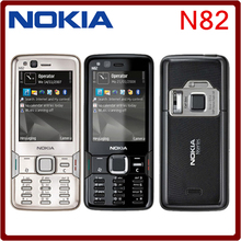 Original Nokia N82 Unlocked GSM Mobile Phone Dual Camera 5MP WIFI 3G GPS Russian keyboard Phone freeshipping one year warranty(China (Mainland))