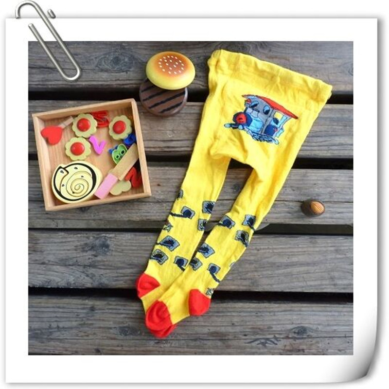2015 Brand Cotton Knitting Newborn Baby Girls Tights European And American Style Soft Magic<br><br>Aliexpress