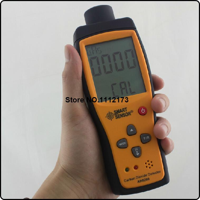 Portable Carbon Dioxide Gas Detector CO2 Gas Detector 0-5000ppm natural gas analyzer(China (Mainland))